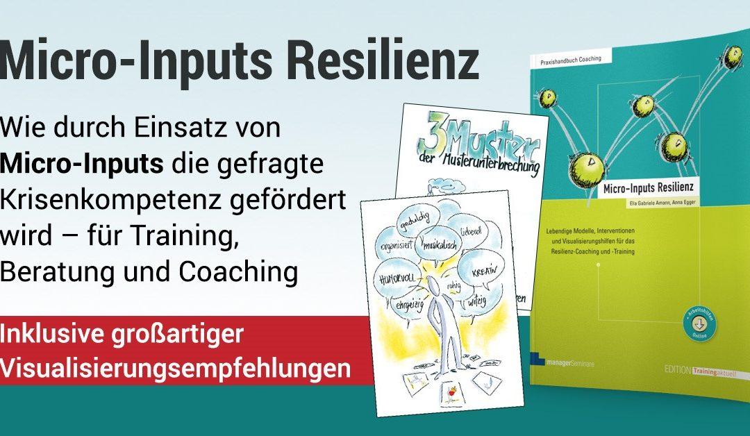 Micro-Inputs Resilienz, Agilität und ECHTzeitlernen | Trainerkongress 2019