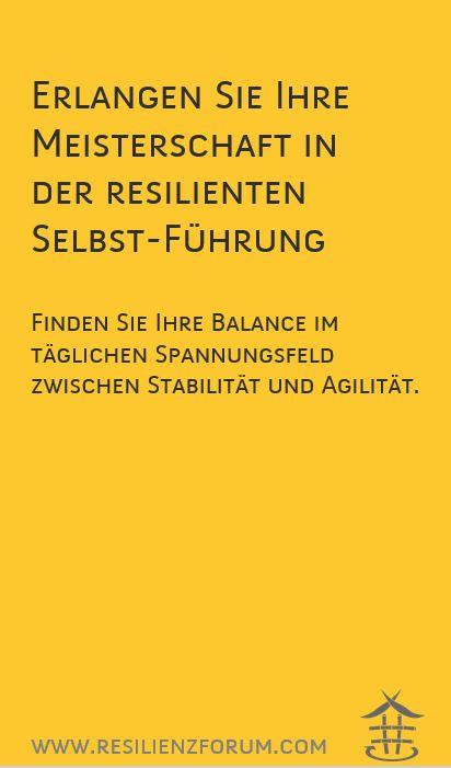 3 Tage Resilienz-Empowerment-Programm