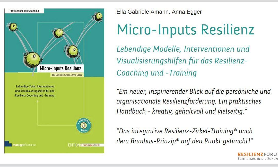 Micro-Inputs Resilienz – Praxishandbuch Coaching & Training