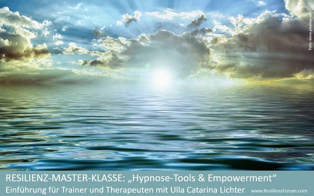 "Resilienz-Master-Klasse ""3 Tage Hypnose-Tools"" mit Ulla Catarina Lichter"