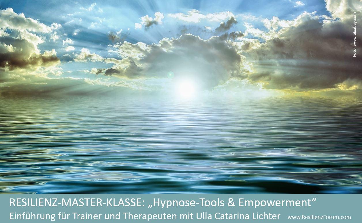 Resilienz-Master-Klasse Hypnose mit Ulla Catarina Lichter