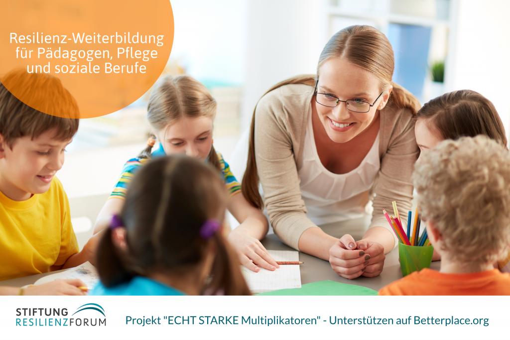 Stiftung ResilienzForum_ECHT STARKE Multiplikatoren