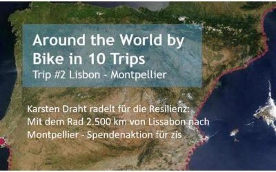 Glückwunsch Karsten! In 18 Tagen von Lissabon nach Montpellier