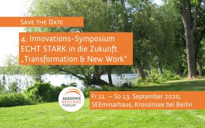 4. Innovations-Symposium 2020, Krossinsee bei Berlin
